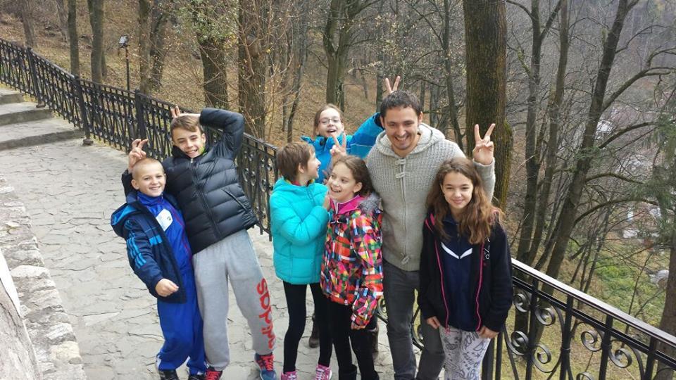 In vizită cu Echipa la Castelul Bran
