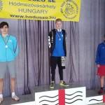Calin Rareș - locul 2 la 100m bras