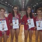 Stafeta de fete Aquasport Timisoara