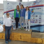 podium 200 m spate feminin categoria Open